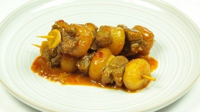 Curry kabob di Madras