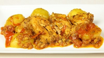 Vindaloo di pollo