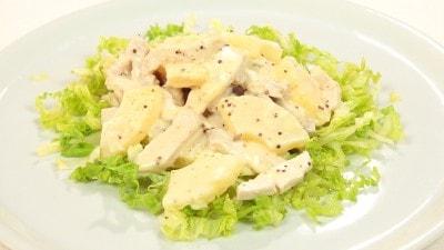 Insalata esotica con pollo