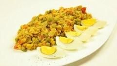 Curry indiano di melanzane