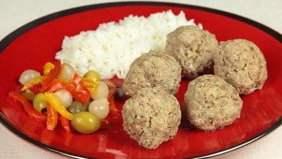 Kofta Nakhod - Polpette di carne con ceci