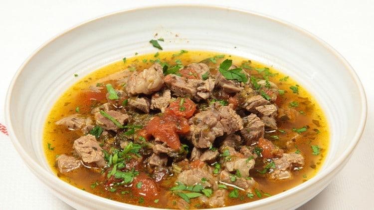 Marak teimani - Zuppa speziata di carne
