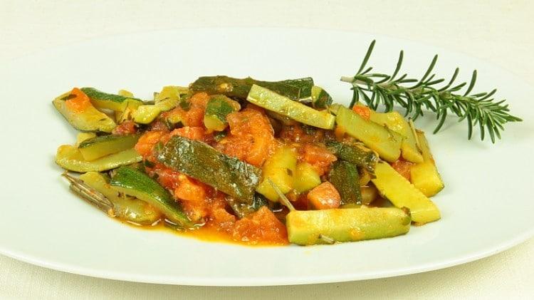 Stufato di zucchine