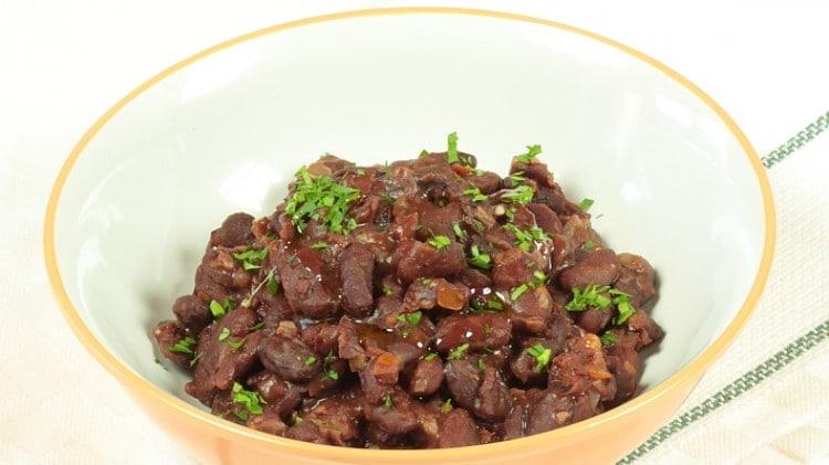 Fagioli rossi al garam masala
