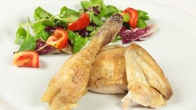 Pollo arrosto siriano Jaj Mishwee