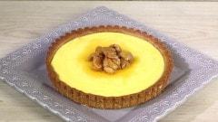 Crostata alle castagne e crema di ricotta