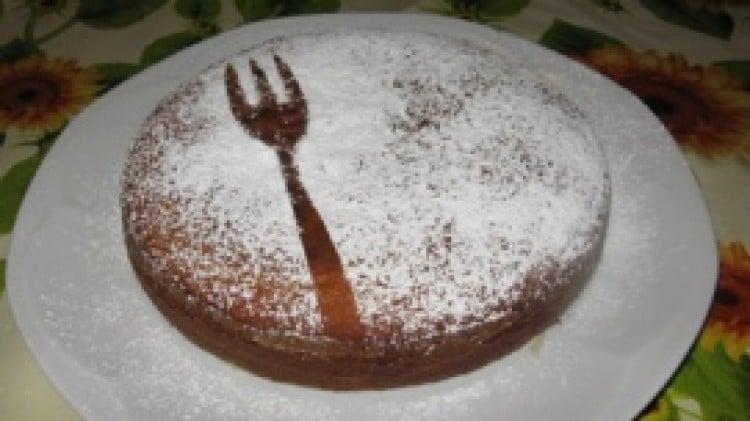 Torta con marmellata di marroni