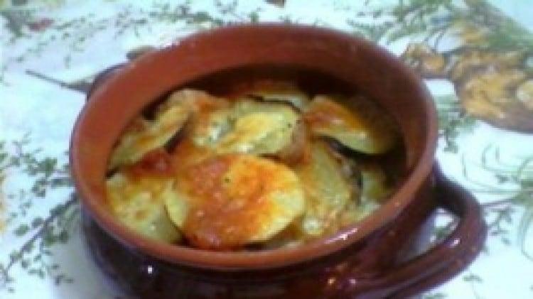 Coccio di patate tartufate