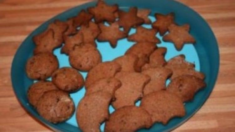 Biscotti con cioccolato modicano
