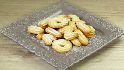 Biscotti di Vienna con solo albumi
