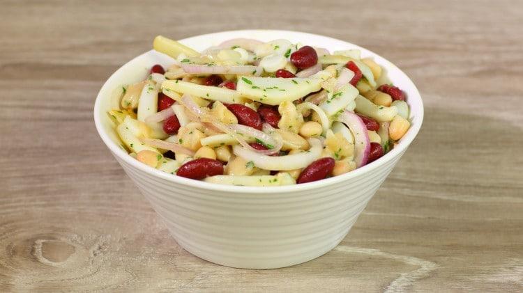 Insalata di fagioli e seppie