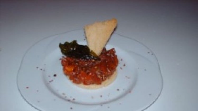 Tartare di pomodori