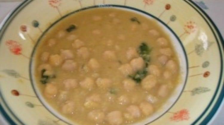 Zuppa di ceci semplice