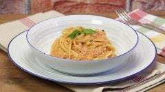 Spaghetti alla polpa di granchio facili