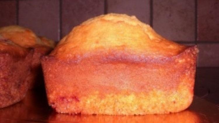 Mini plumcake alle fragole di  marron glacè