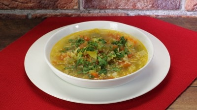 Zuppa di quinoa