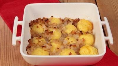Klocki (crocchette) di patate con formaggio