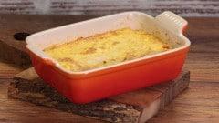 Zucca al forno con uova
