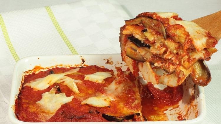 Parmigiana con baccalà