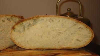 Pane cafone a lievitazione naturale