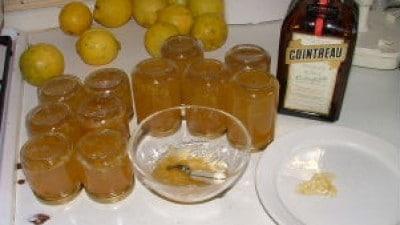 Gelatina di limone al cointreu