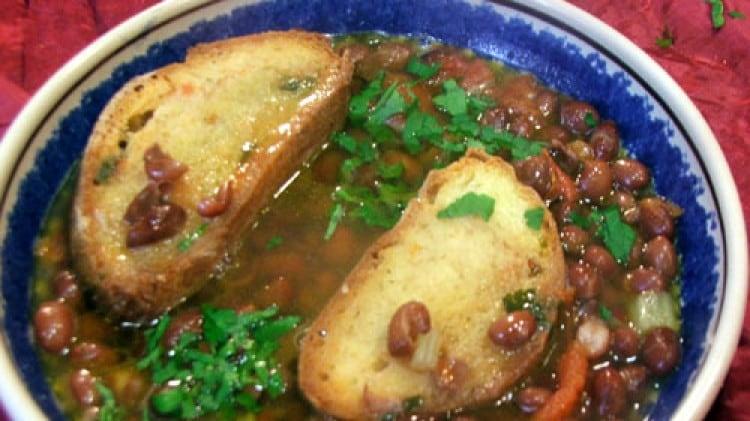 Zuppa di fagioli zampognari