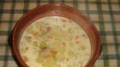 Crema di patate e funghi