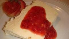 Semifreddo al cheesecake