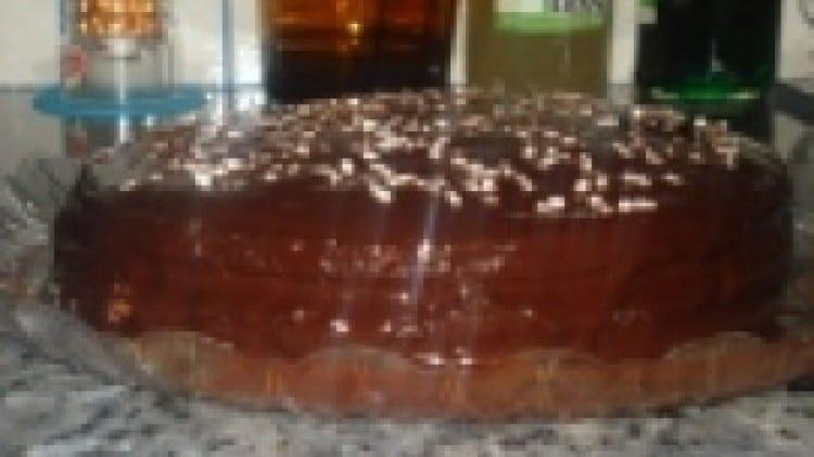 Torta di cioccolato e marmellata di arance