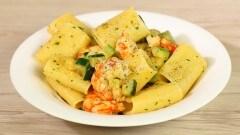 Paccheri zucchine e gamberetti