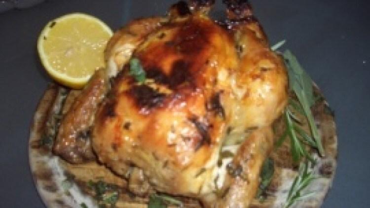 Pollo arrosto agli aromi