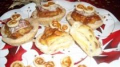 Fiori di lasagne al gorgonzola e speck