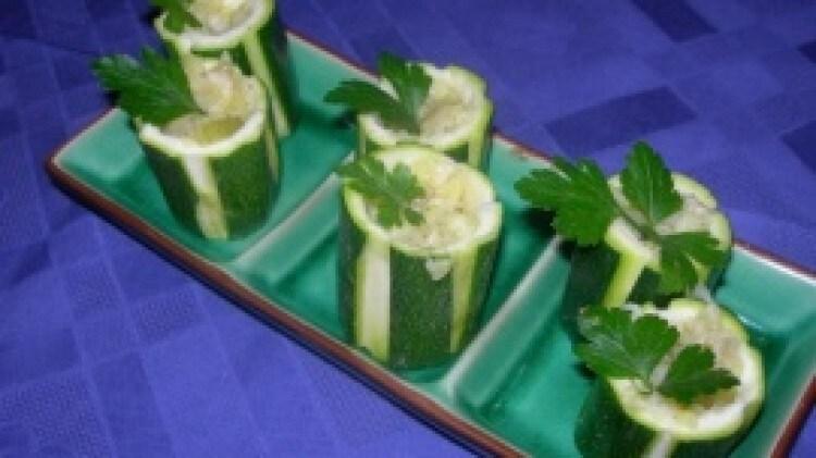 Tronchetti di zucchine
