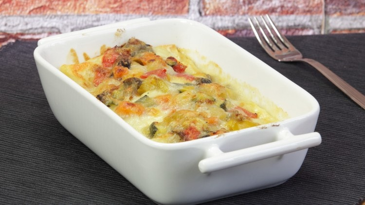Lasagne vegetariane leggere