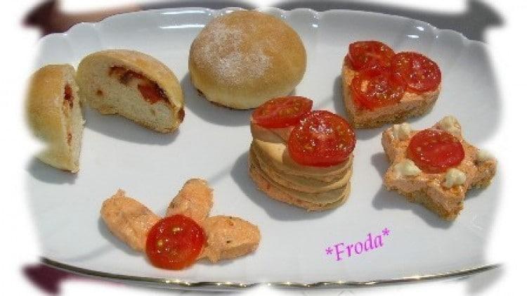 Mini cheesecake al pomodoro