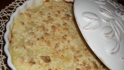 Crumble di ananas