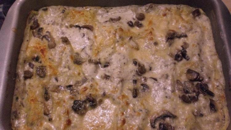 Lasagne alla boscaiola
