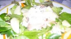 Tranci di salmone con salsa acida
