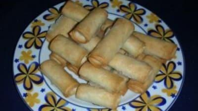 Biscottini di pasta fillo e pistacchi