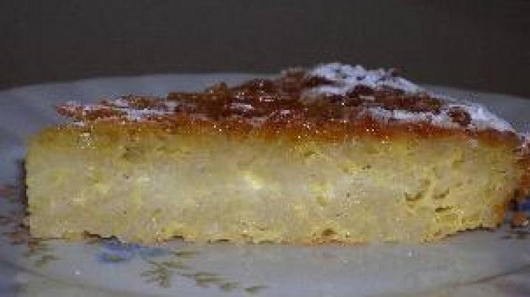 Pastiera di pasta capellini dolce