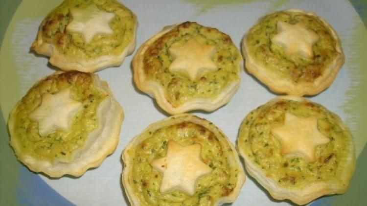 Mini quiche tonno e zucchine