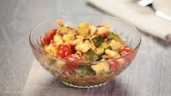 Sugo di gamberi e zucchine