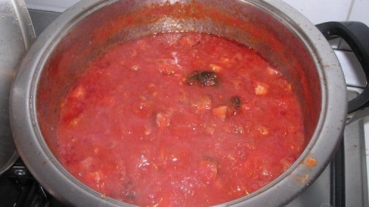 Sugo salsiccia e pancetta