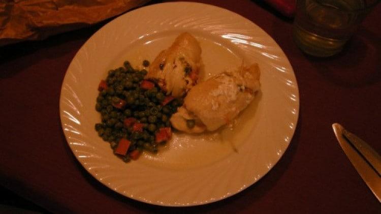 Involtini di pollo, zucchine e scamorza