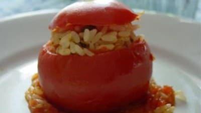 Pomodori ripieni di riso di rossogiulietta
