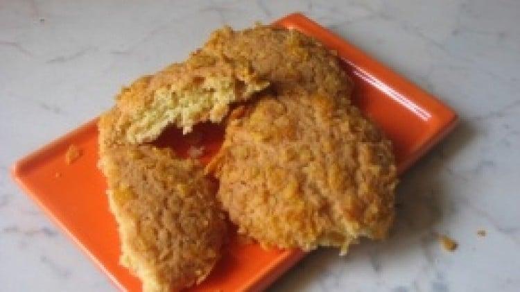 Biscotti al limoncello e corn flakes