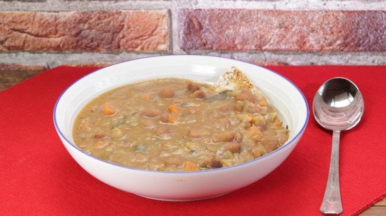Zuppa di fagioli alla veneta