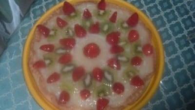 Crostata di frutta con crema al limone