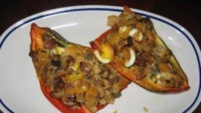 Barchette di peperoni