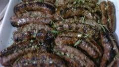Salsicce alla brace di antone